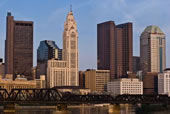 Skyline For Columbus Ohio Attorney Place of Business